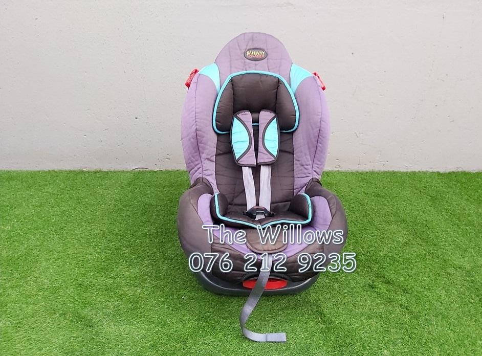 Second Hand Safeway Voyager Belted Car Seat (0 kg - 25 kg)