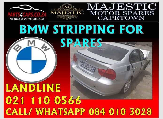 BMW stripping for spares at Majestic Cape Town