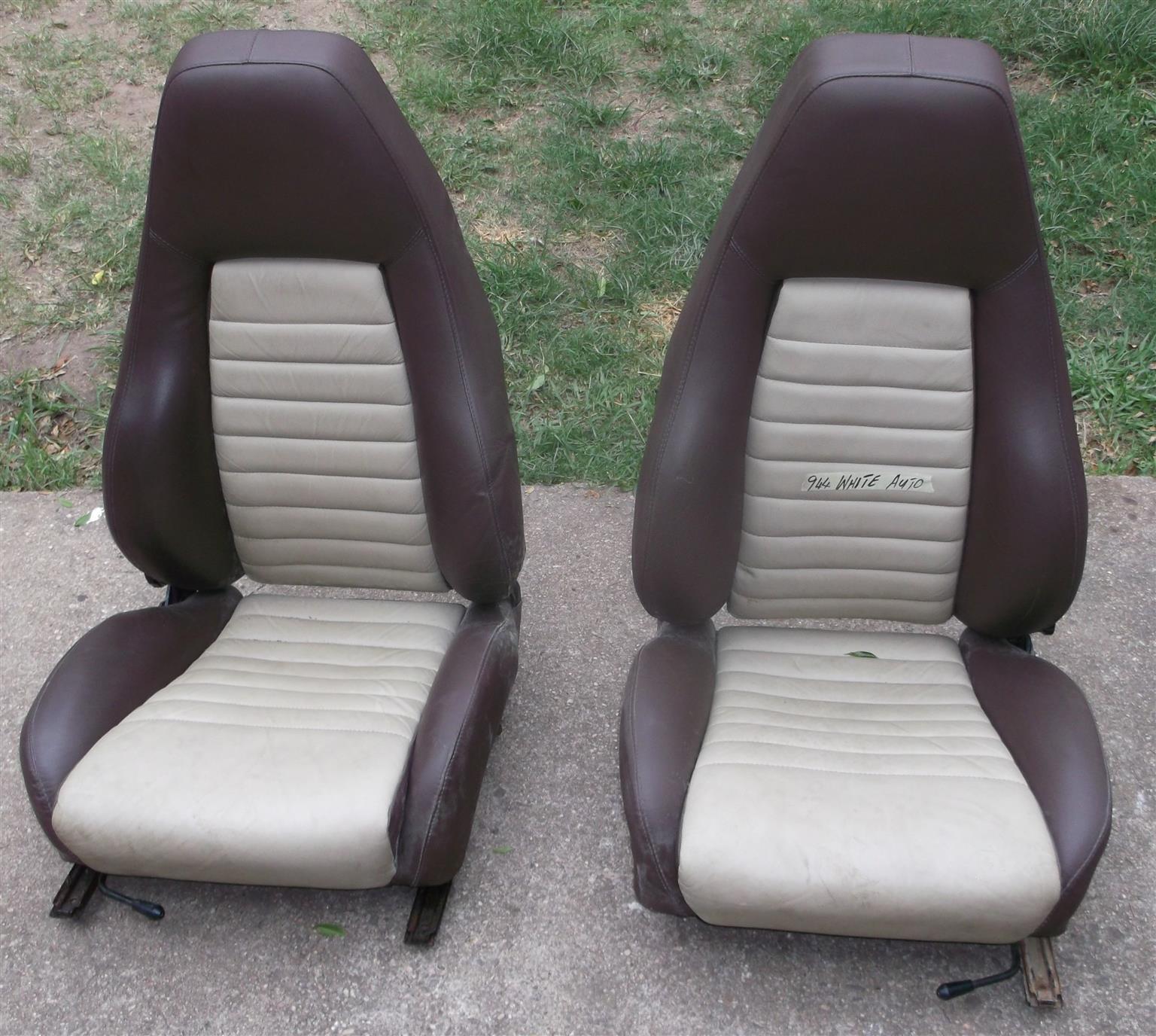 Porsche Original Tombstone Style Seats For Sale Junk Mail