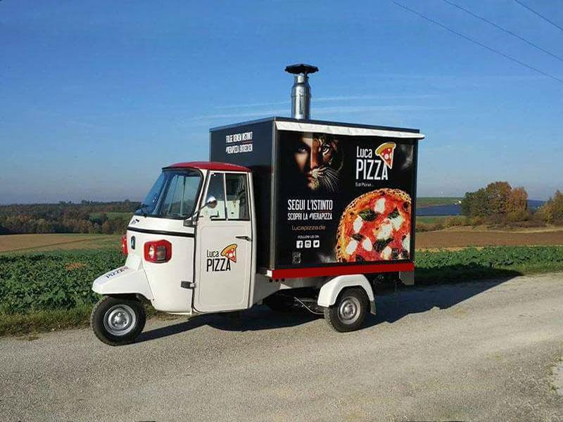 Mobile Pizza Tuk Tuk Style