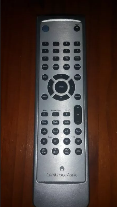 Cambridge Audio remote control for DVD player AS NEW