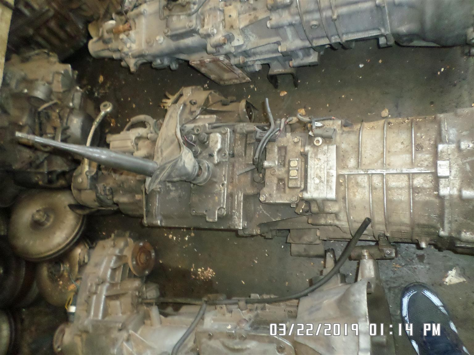 Mitsubishi Pajero 4m41 4x4 5spd gearbox for sale | Junk Mail
