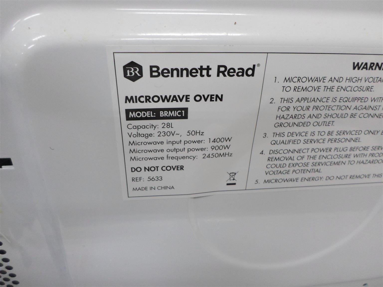 28L Bennet Read Microwave