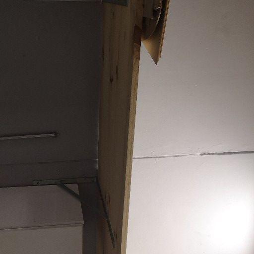 Garage shelving. heavy duty. with brackets. x2  2.20 x 60cm.
