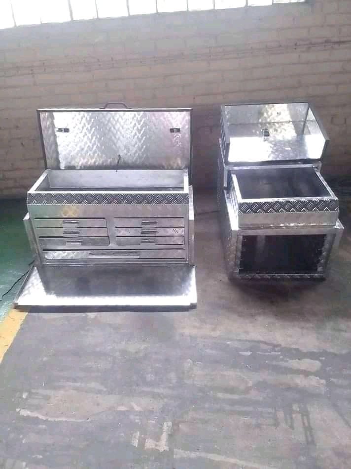 Aluminium  Field Service canopies and Off-road Canopies and Aluminium Toolbox