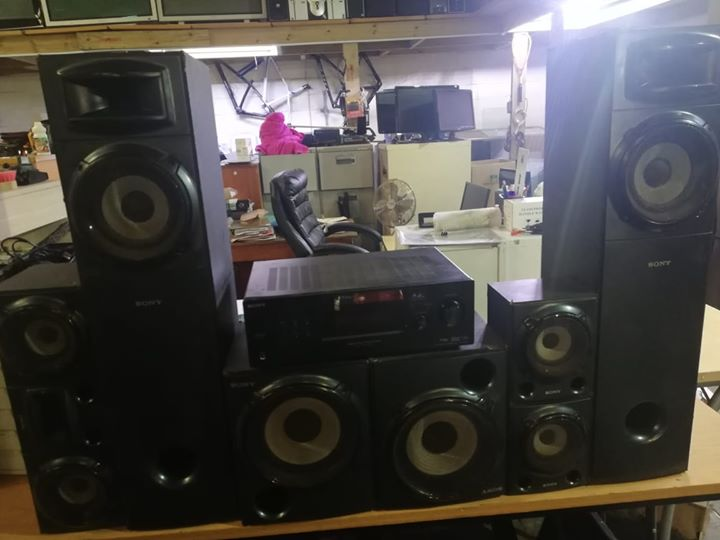 Sony 5 2 Home Theater Speakers