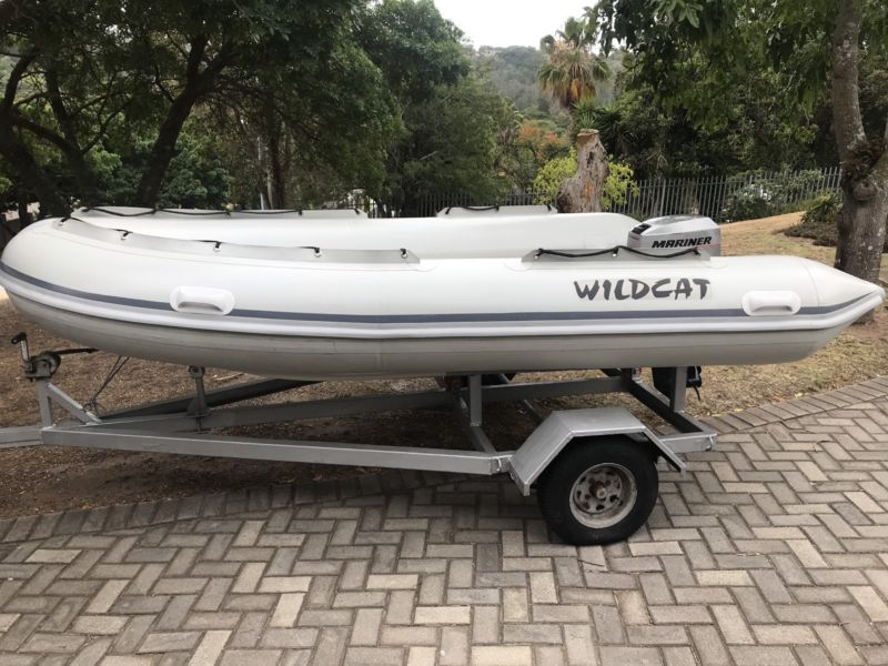 Wildcat semi-ridged  rubberduck  3,6m