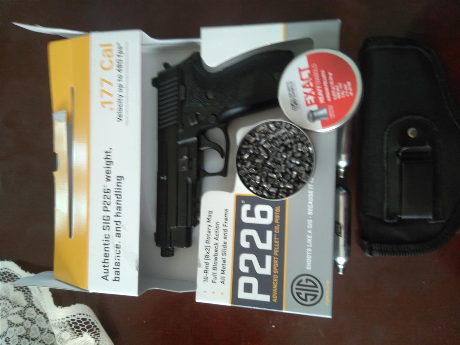 Gas gun Sig sauer p226
