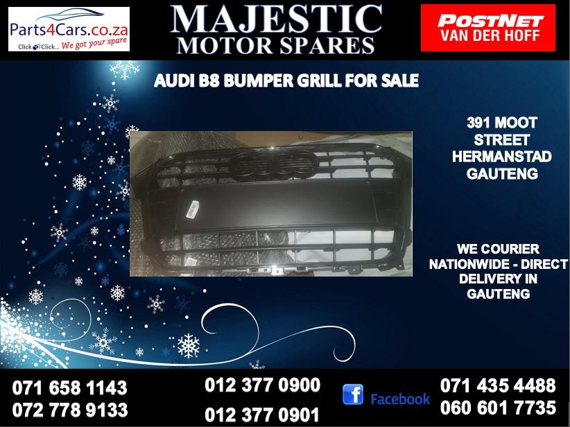 Audi A8 bumper grill for sale