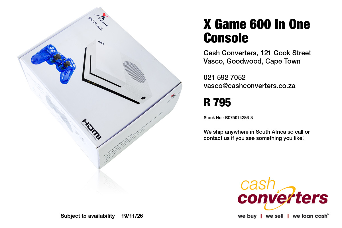 X Game 600 in One Console