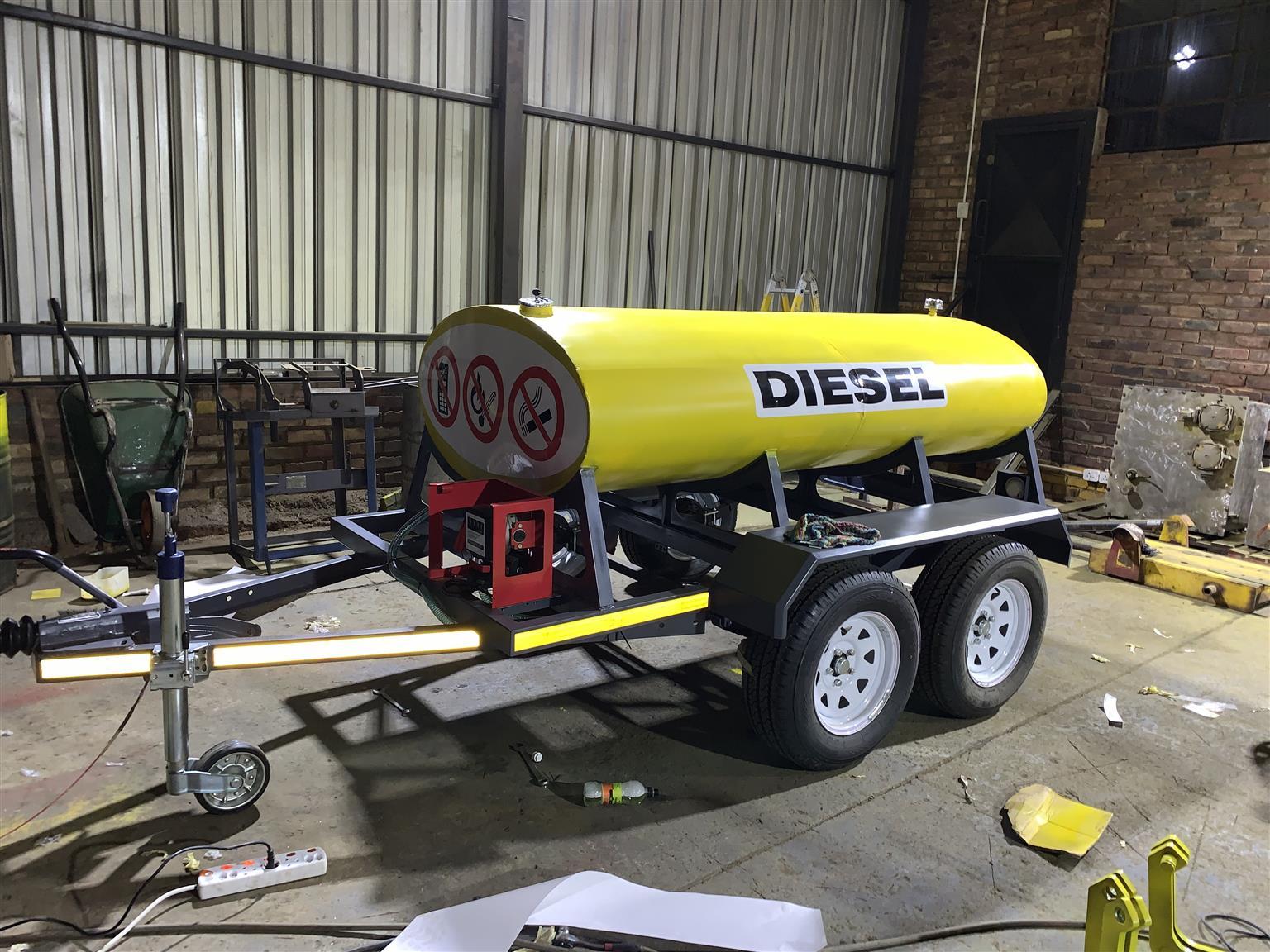 Diesel bowsers