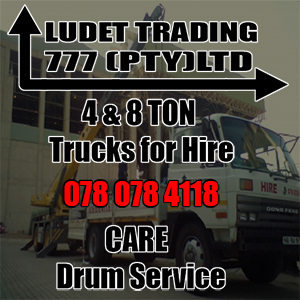 4 and 8 ton trucks for hire!