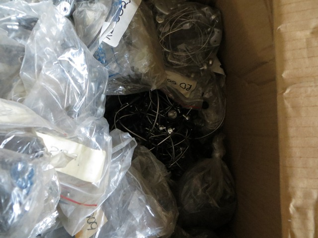 Assortment Shimano fishing reel body/frames & Bail wires    Job Lot # 59