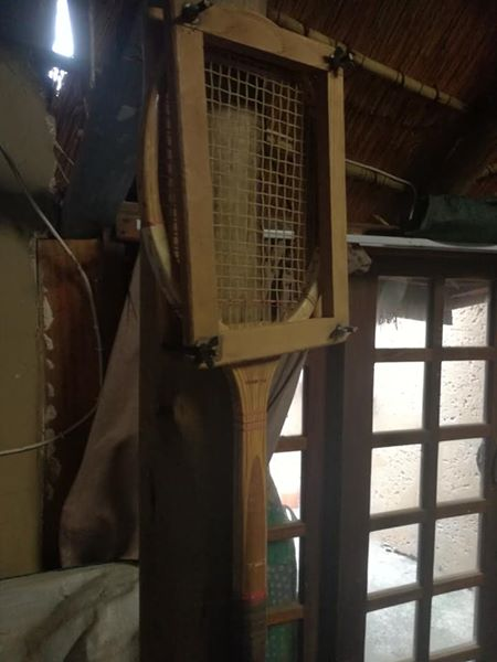 Wooden tennis racket frame for sale