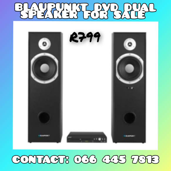 BLAUPUNKT DVD PLAYER WITH DUAL SPEAKERS FOR SALE
