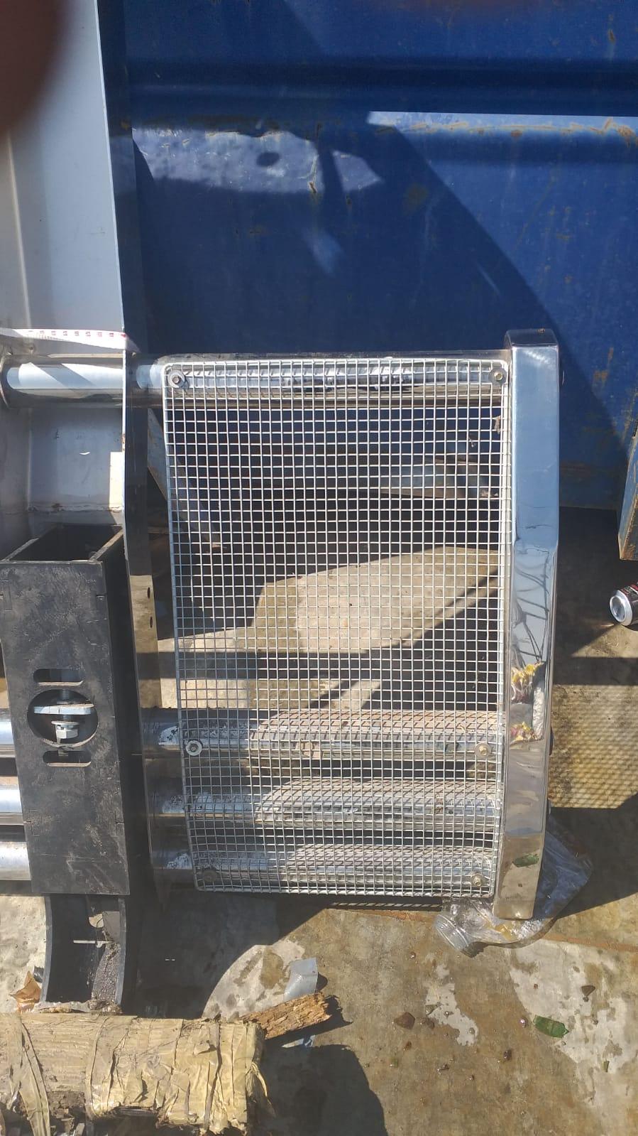 Volvo Truck Bull bar stainless steel
