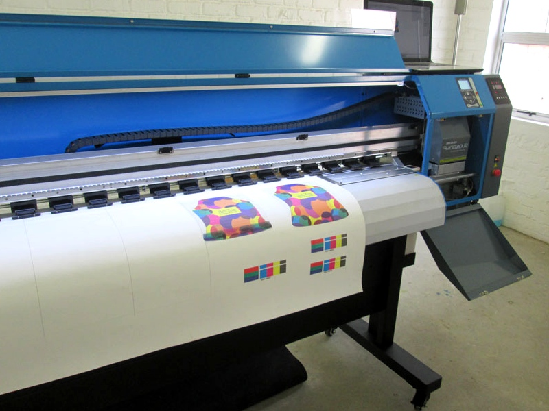 F1-1600D/XP600 FastCOLOUR ONE 1600mm Printing Area Large Format Printer withTwo EPSON