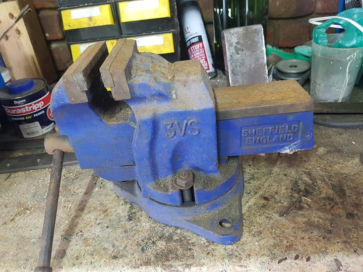 Large Bench Vice Junk Mail