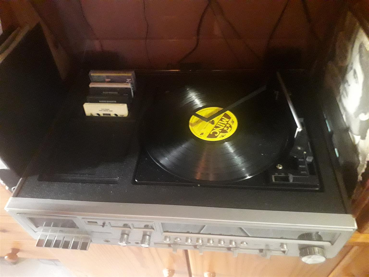 vintage record payer not working