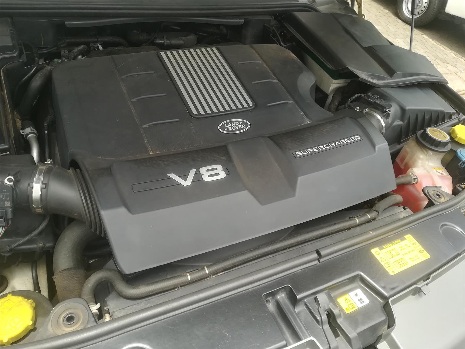 2010 Land Rover Range Rover Sport RANGE ROVER SPORT 5.0 V8 S/C AUTOBIO DYNAMIC