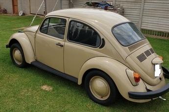 Restored VW Beetle 1600 in Benoni