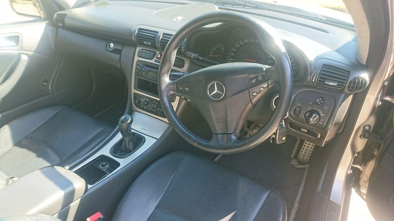 2003 Mercedes Benz C Class C230 Kompressor Sports Coupé Evolution
