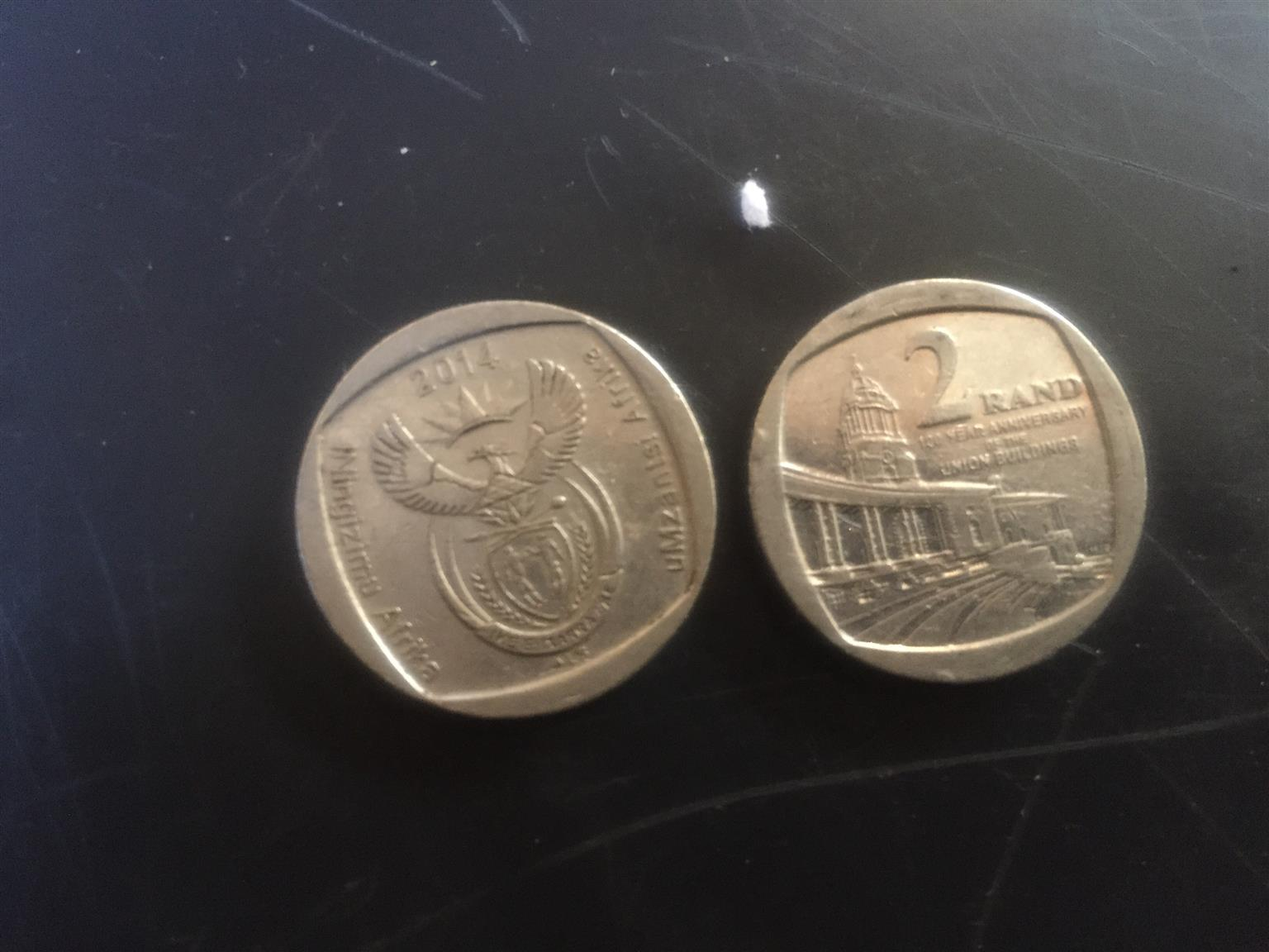Union building coin
