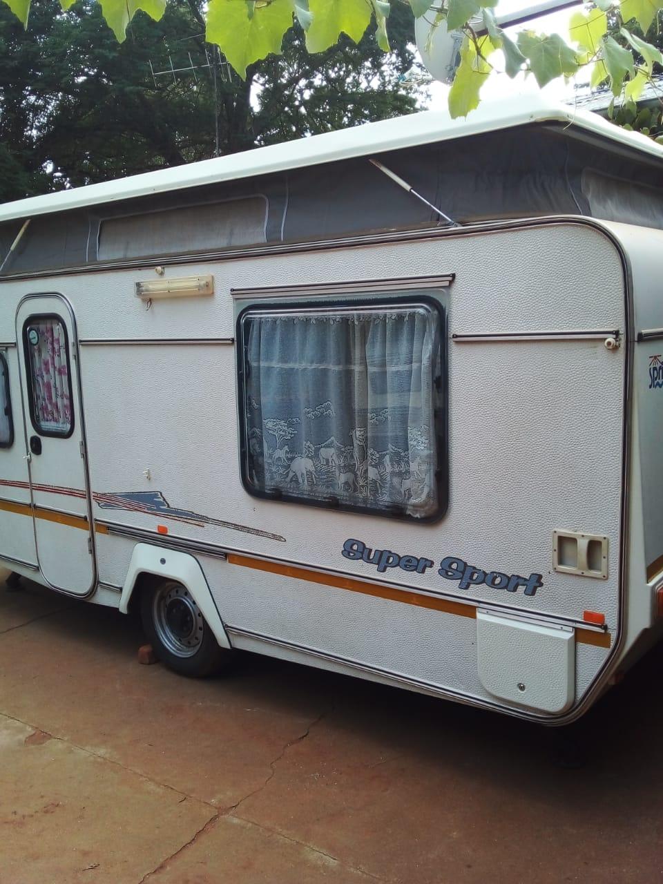 1998 Sprite super sport caravan