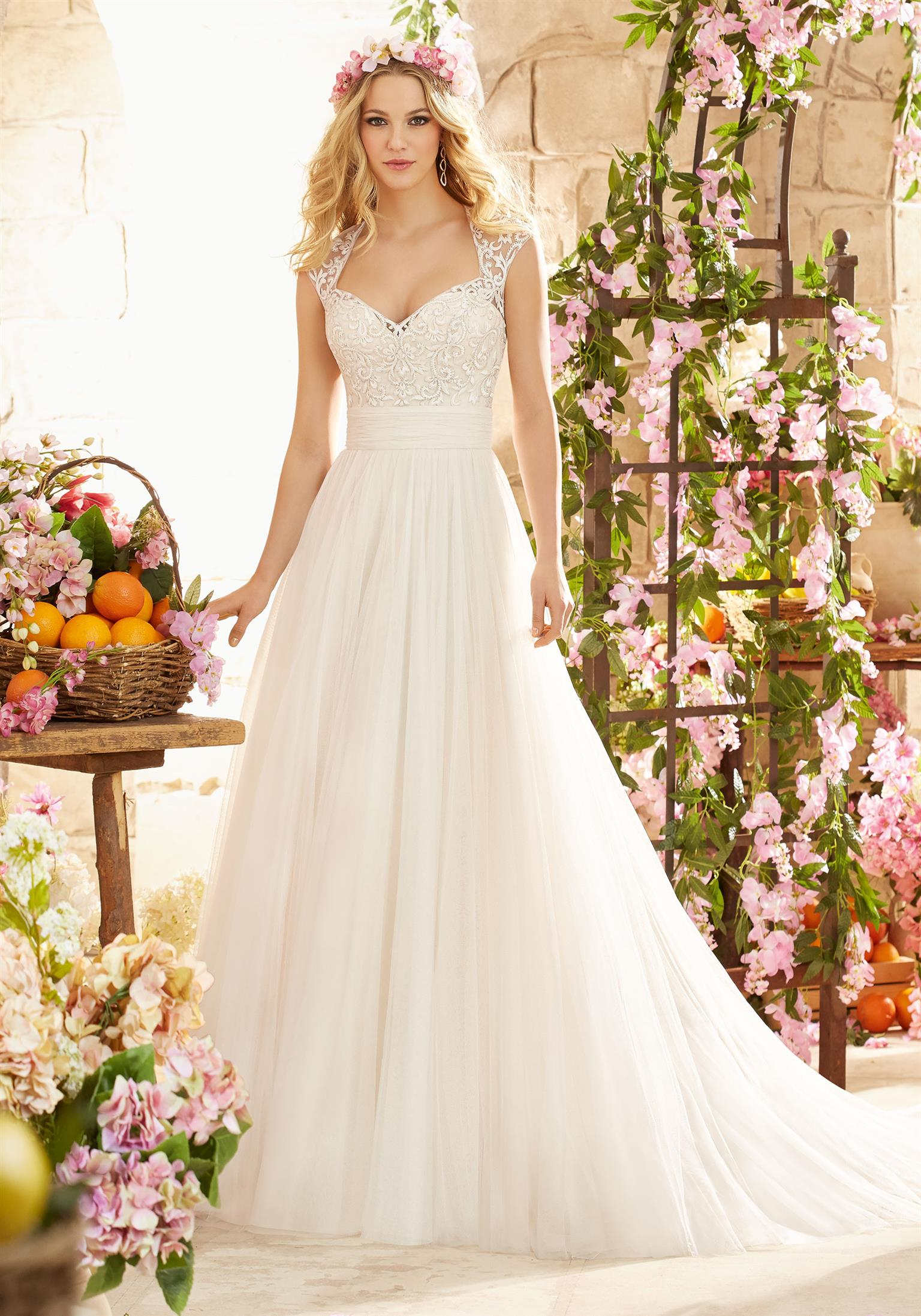 Free wedding gown fitting appointments! We rent and sell top international brands