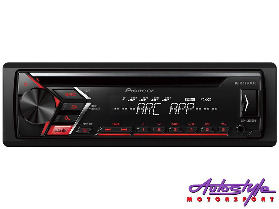 Pioneer DEH-S1050UB Mp3 with USB Front Loader Car Stereo