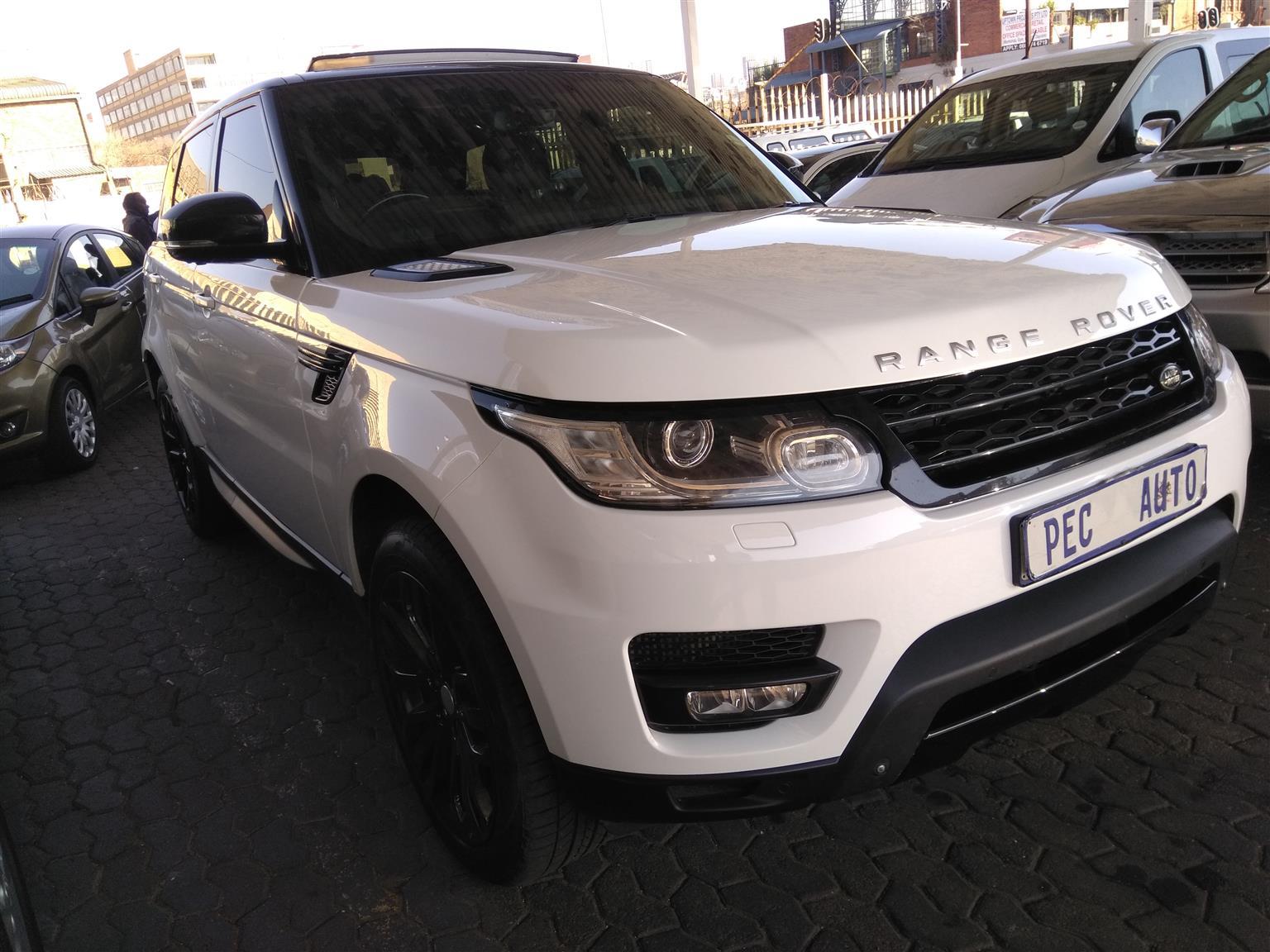Land Rover Range Rover Sport. 4.4