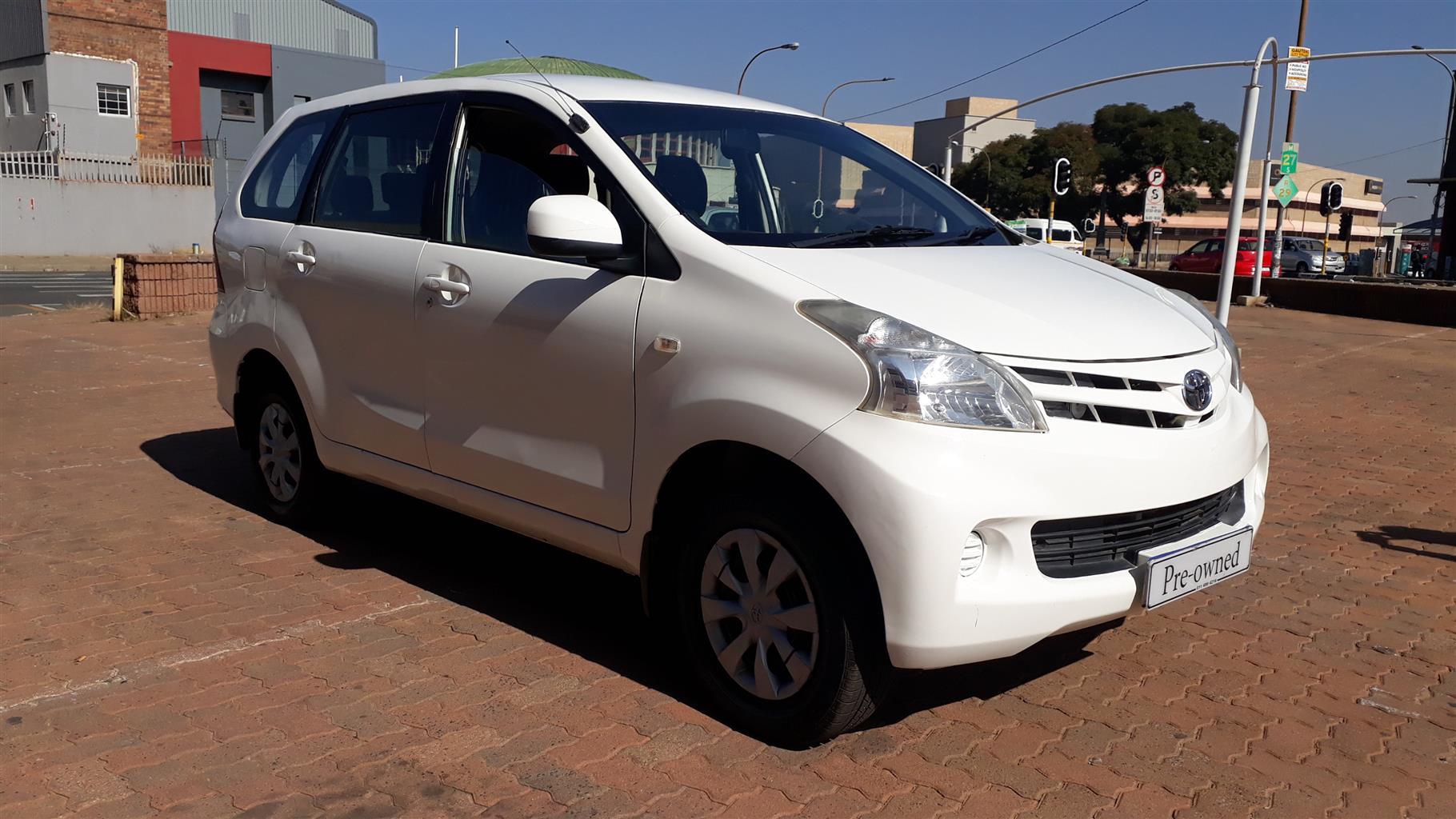2014 Toyota Avanza AVANZA 1.5 SX
