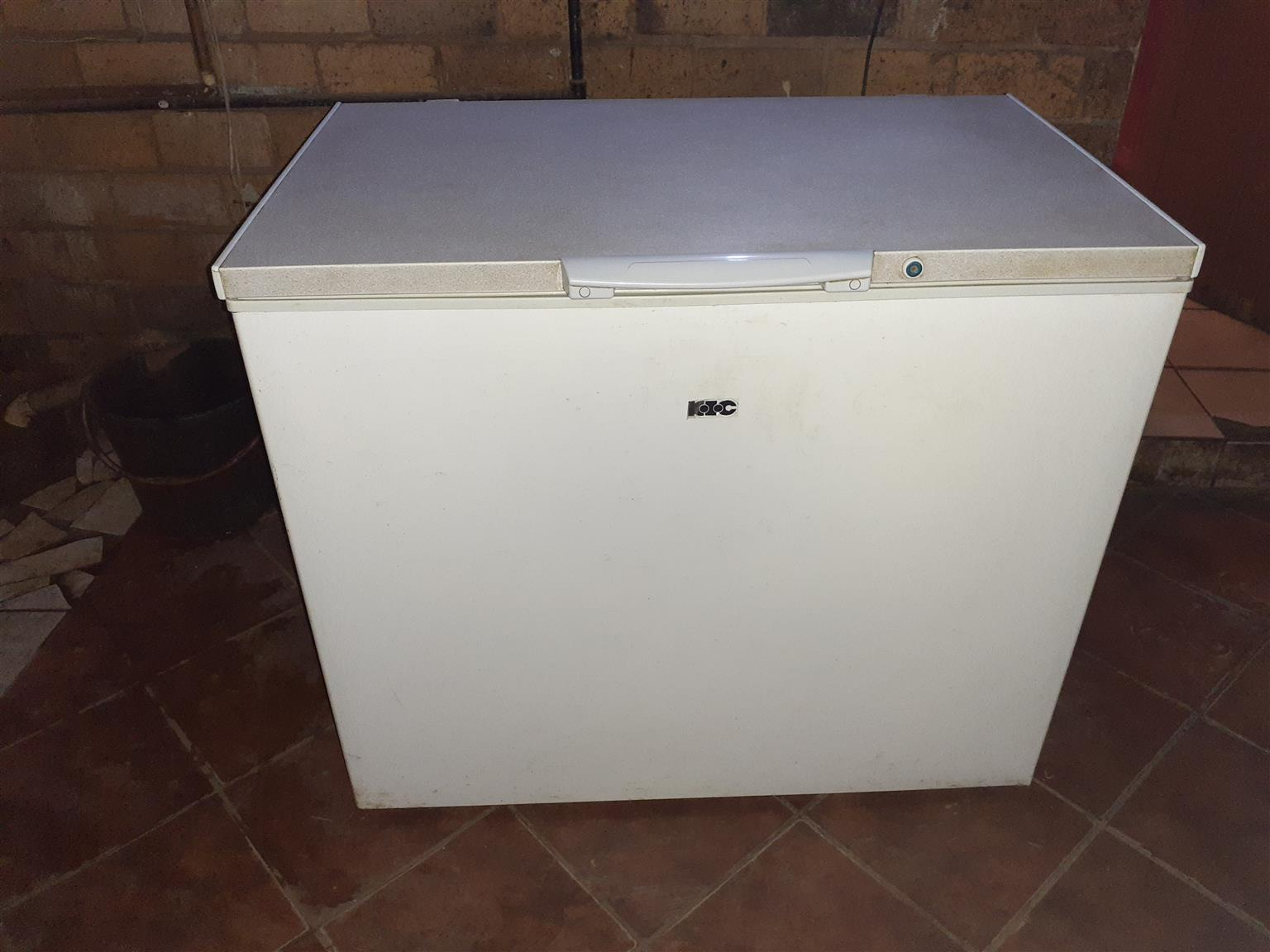 KiC 285 litre freezer.