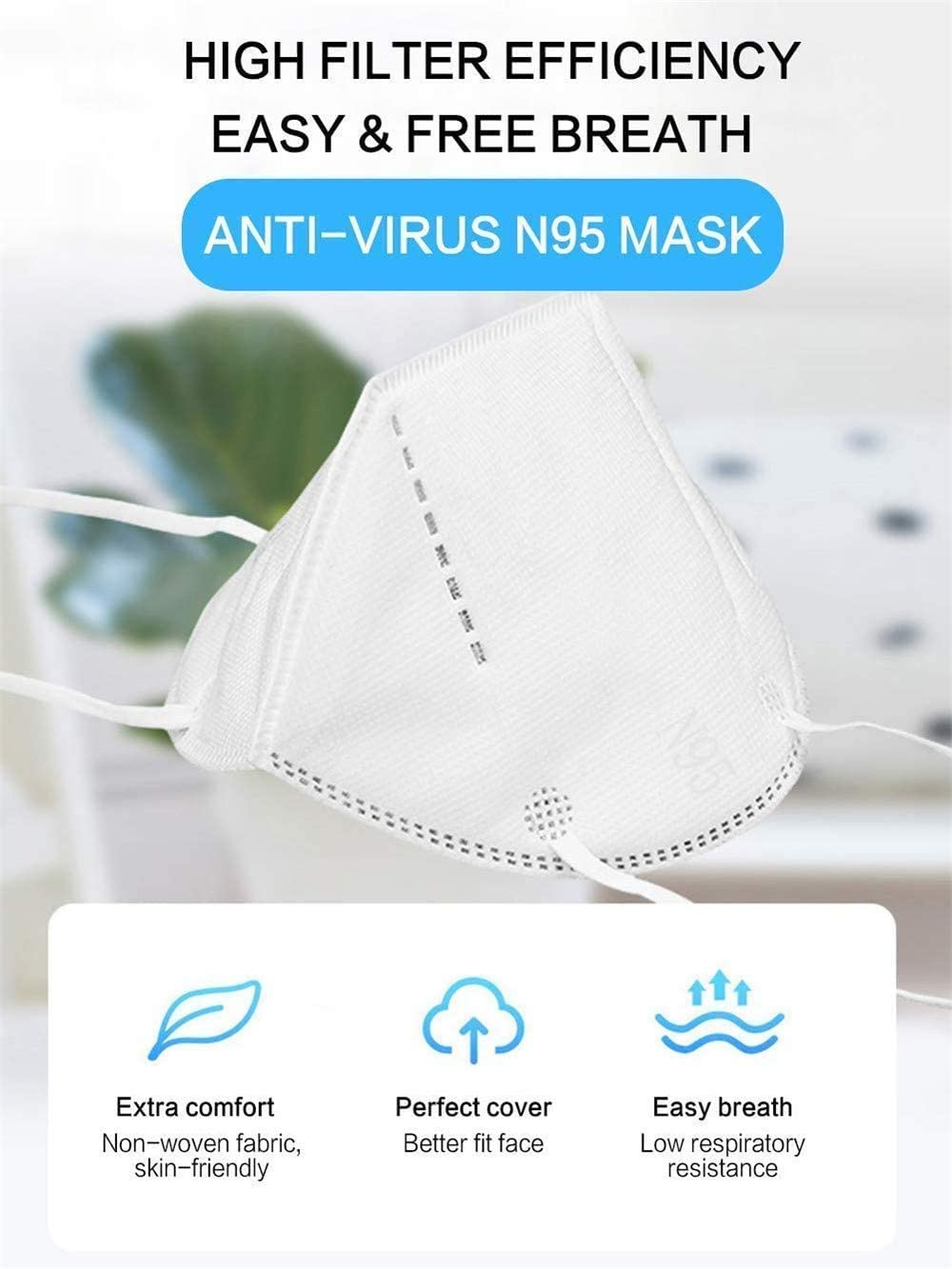 KN95 Protective Mask - Superb Protection Against Corona