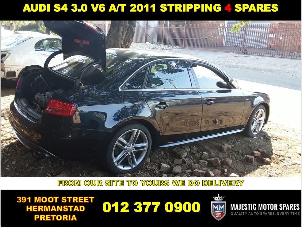 Audi S4 3.0 V6 used automotive spares for sale