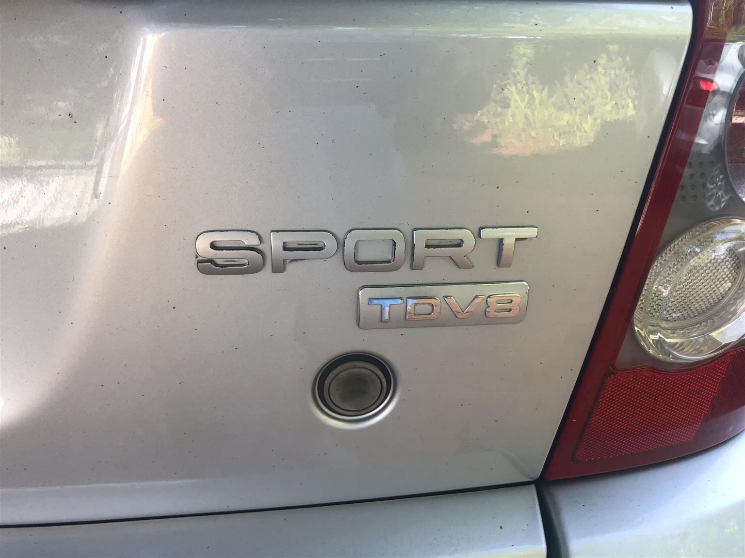 2009 Land Rover Range Rover Sport TDV8 HSE