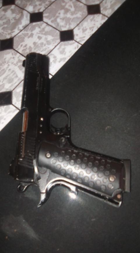 Blank firing gun