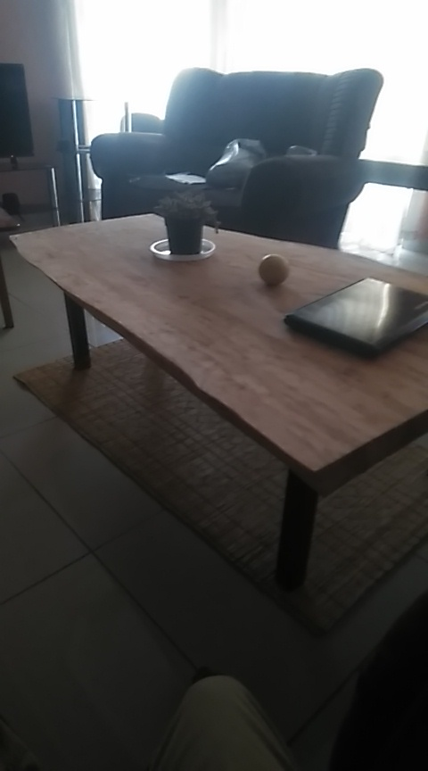 lead wood benches and bed side table