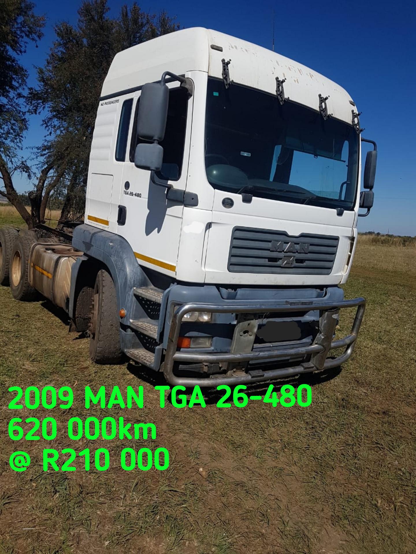 2009 MAN TGA 26-480