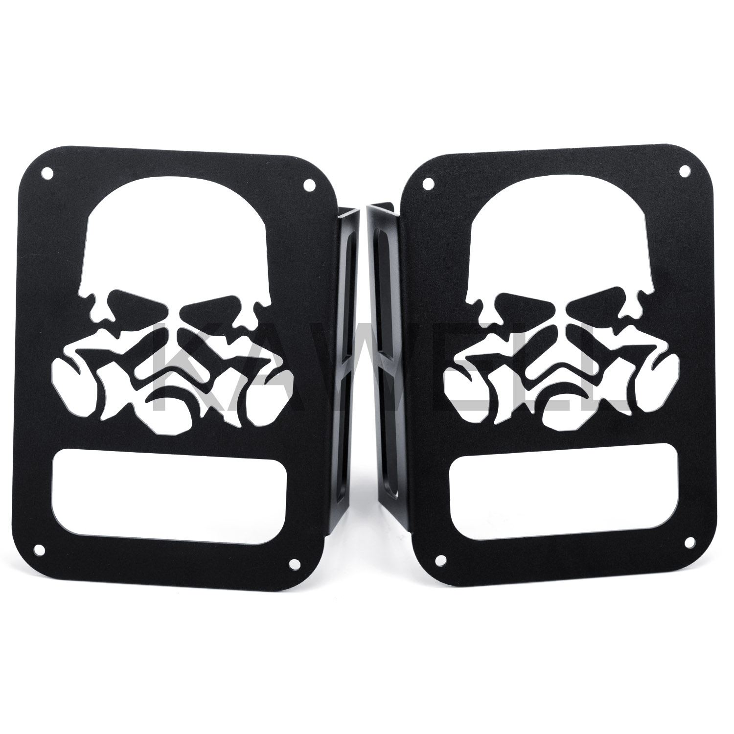 JEEP WRANGLER JK GAS MASK TAIL LIGHT COVERS FOR SALE NEW