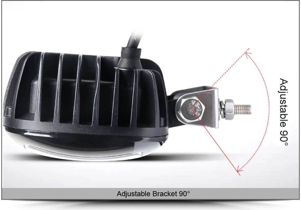 LED Bike Vehicle Spot Lights 30W 10V~32V DC. Brand New Units