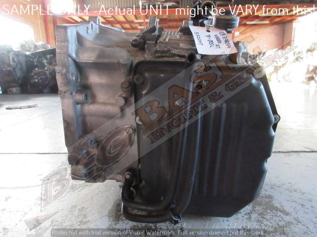 VOLVO S40 T3 -B5254T 2.5L TF-80FC 2WD AUTO FWD Gearbox