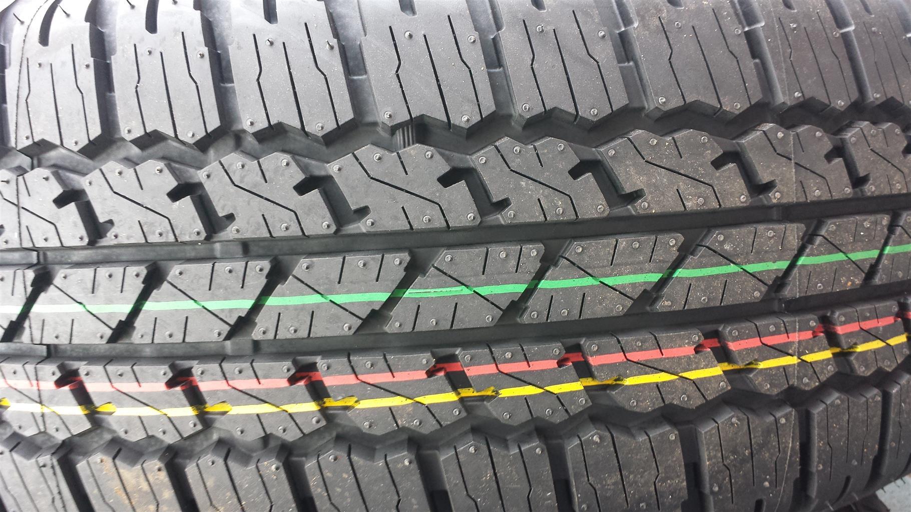 Tyres. 265.65.17 Bridgestone New