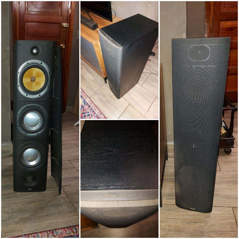 Bowers&Wilkins floor standing speakers