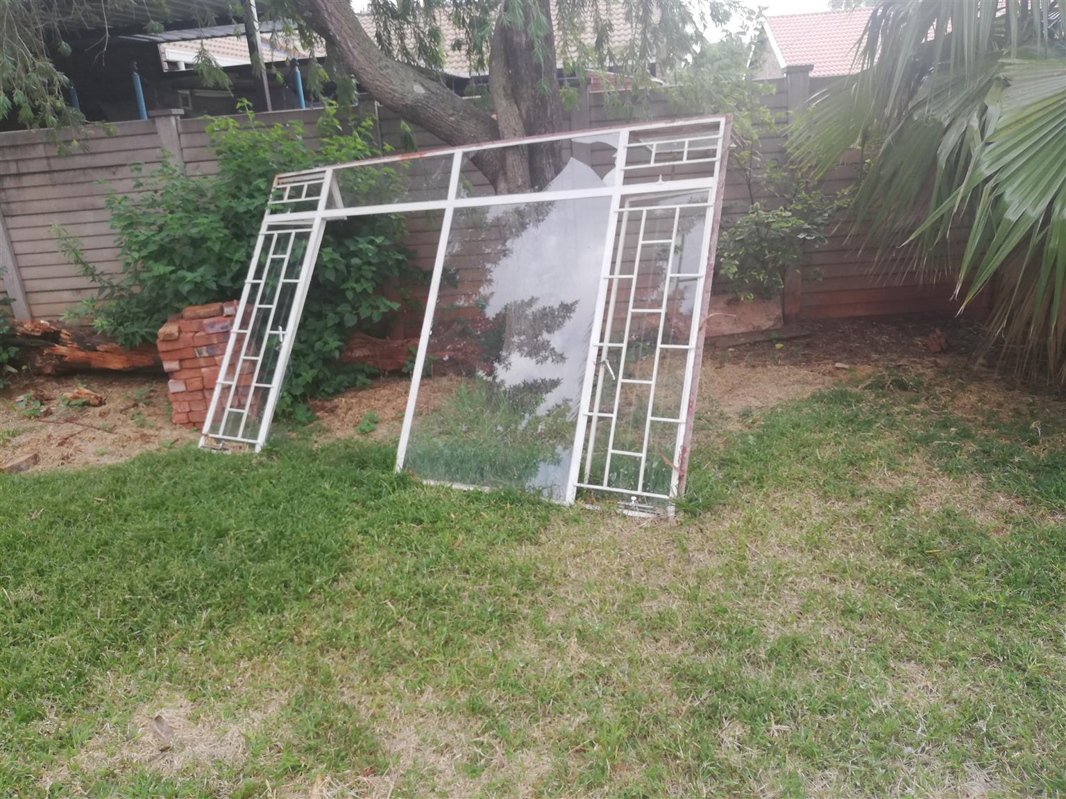 Garage doors and windows for sale