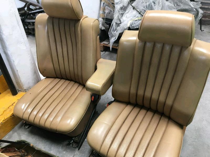 Mercedes-Benz W123 Seat of Seats
