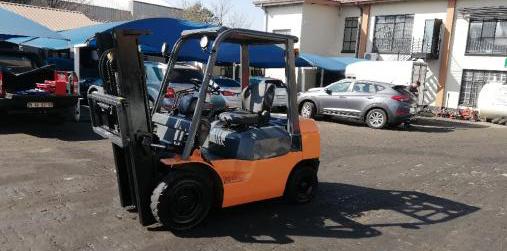 2.5ton Toyota 7FD25 diesel forklift