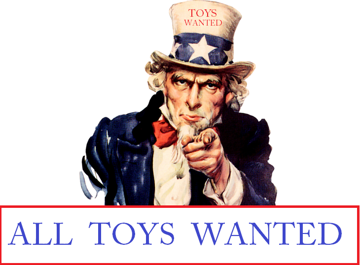 WANTED - In Need Of All Unwanted Toys