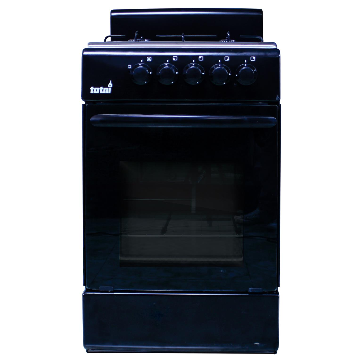 GAS STOVE 4 PLATE WITH OVEN