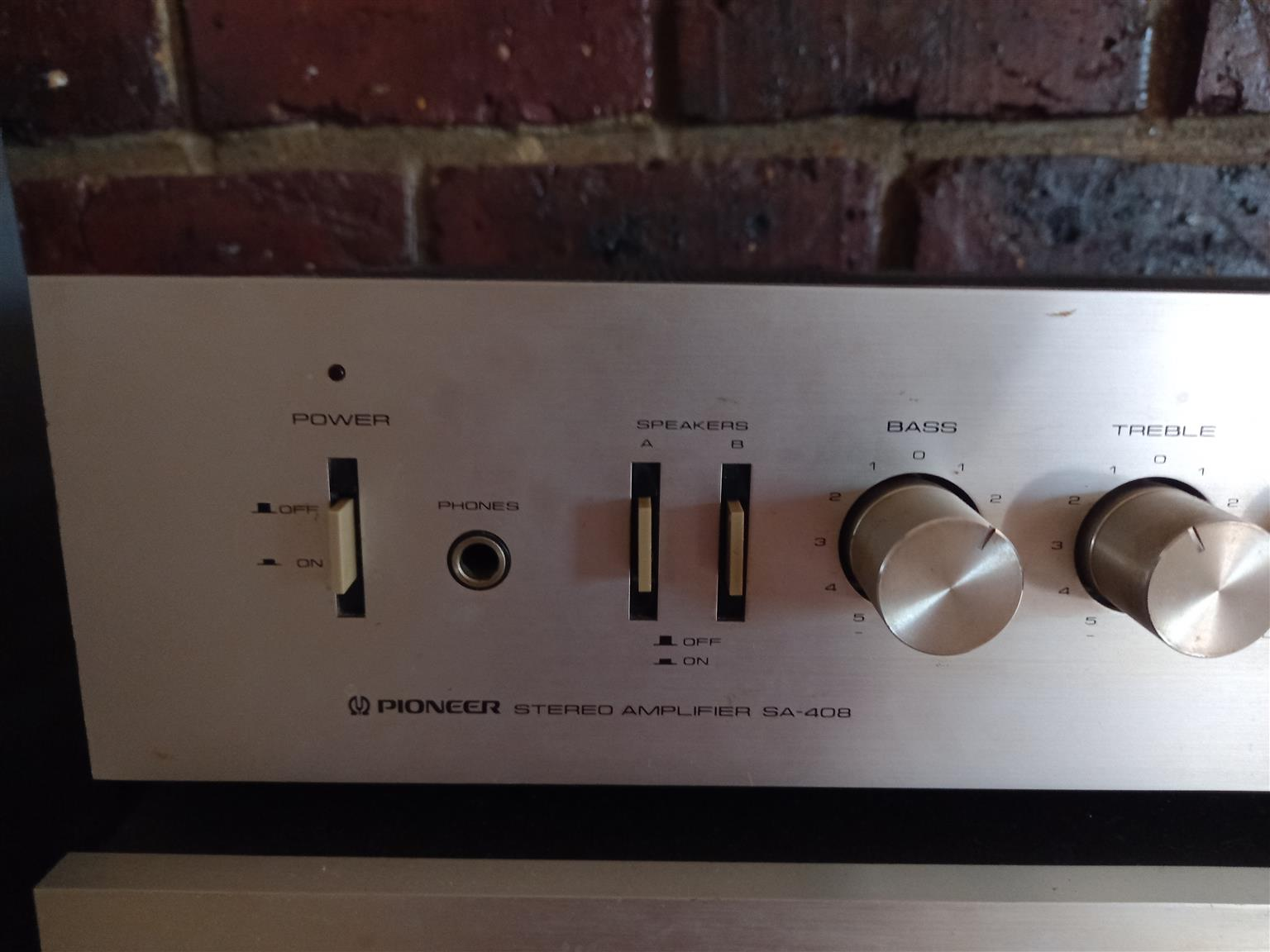 4 Piece Vintage Pioneer Hifi System With original speakers